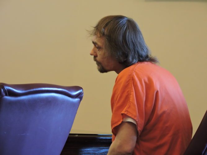 JAMES D. McMasters makes an Alford plea to involuntary manslaughter on Monday.       T-L Photo/ SHELLEY HANSON