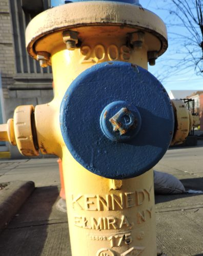 THE VILLAGE of Bellaire received a 60-day extension on its grant to replace 24 of its fire hydrants with new  ones.  T-L Photo/ SHELLEY HANSON
