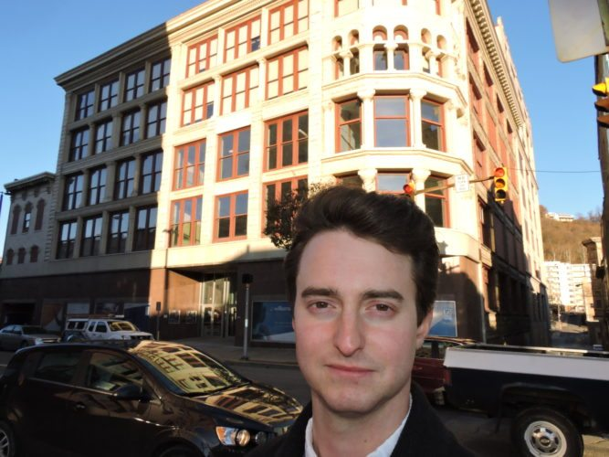 Wheeling Heritage Executive Director Jake Dougherty said rehabilitation projects such as the one that allowed the former Stone & Thomasdepartment store to become a mixed-use structure that houses Williams Lea Tag, may no longer be feasible if Congress ends the Historic Preservation Tax Credit. File Photo