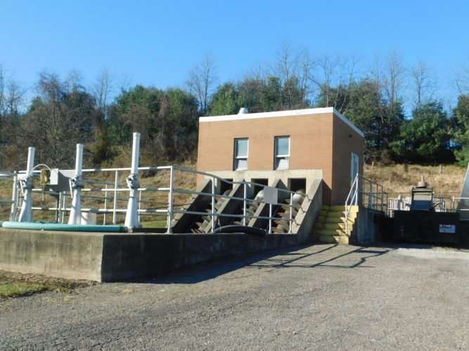 T-L Photo/ROBERT A. DEFRANK The St. Clairsville water and wastewater treatment plants will be helmed by Kendal Weisend, hired as the new supervisor. He begins work Dec. 18. Shown here is the wastewater plant.