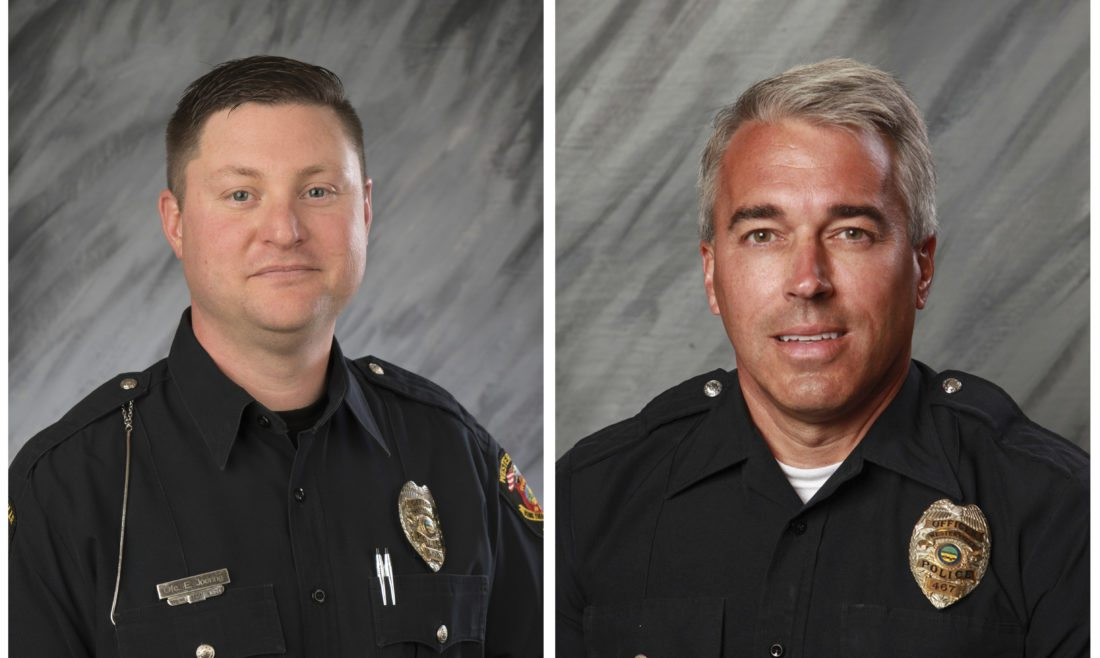 2 police officers shot, killed in Ohio; suspect in custody