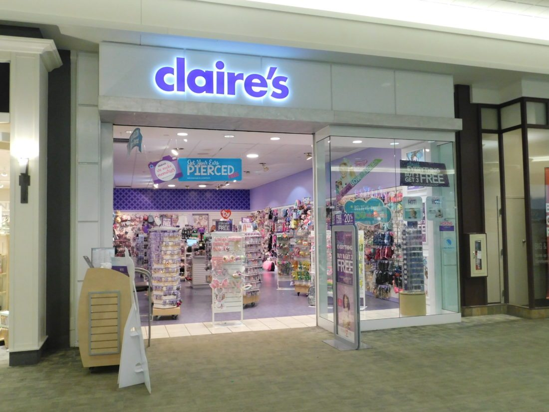 Claire's files for bankruptcy
