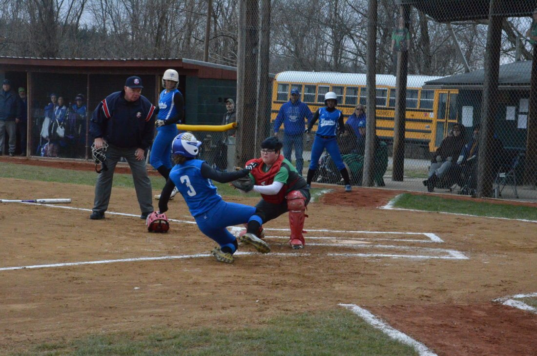 Softball swept by EMU in doubleheader