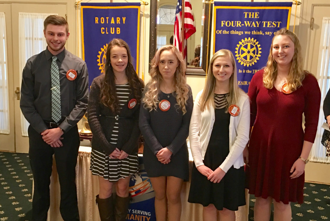 Feb.Student Rotarians