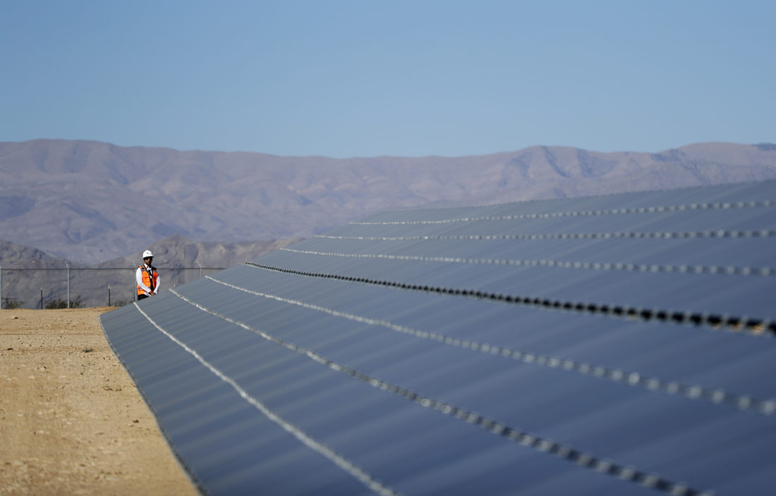 Tribal Solar Energy Plant