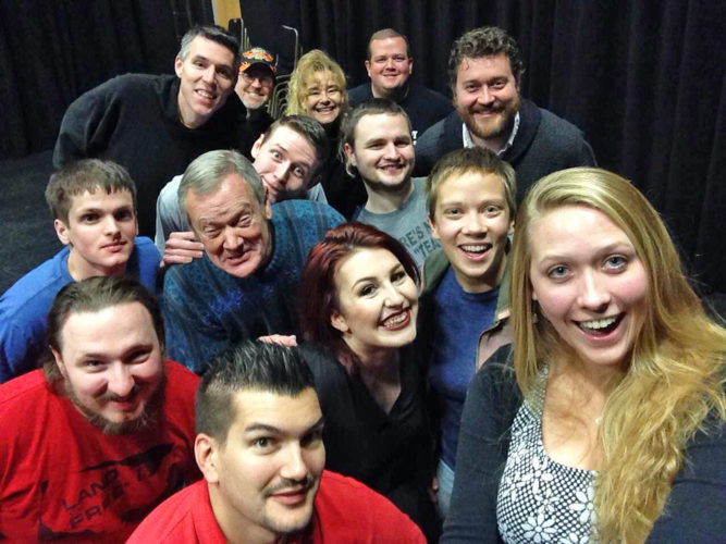 """CONTRIBUTED PHOTO """"Instant Comedy — Just Add Spam"""" returns to the Orpheum Theater, for a one-night-only performance, Saturday at 7 p.m. The improv comedy show will offer spontaneous jokes and skits, plus audience interaction. Tickets cost $10."""
