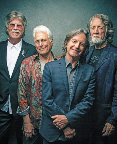 CONTRIBUTED PHOTO Friday night at 8 p.m., the Nitty Gritty Dirt Band will perform live in concert at Meskwaki Bingo Casino Hotel. Today the four-man band consists of Jeff Hanna, Jimmie Fadden, John McEuen and Bob Carpenter. The show is restricted to those age 21 and older.