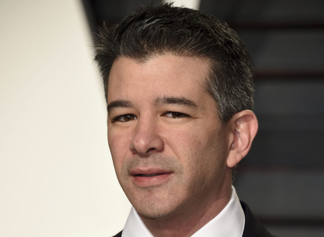 Uber chief executive to take unspecified leave of absence