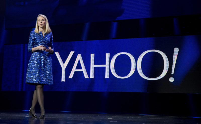 AP PHOTO In this Jan. 7, 2014, file photo, Yahoo president and CEO Marissa Mayer speaks during the International Consumer Electronics Show in Las Vegas. On Tuesday, Verizon took over Yahoo, completing a $4.5 billion deal that will usher in a new management team to attempt to wring more advertising revenue from one of the internet's best-known brands. Tuesday's closure of the sale ends Yahoo's 21-year history as a publicly traded company. It also ends the nearly five-year reign of Yahoo CEO Marissa Mayer, who isn't joining Verizon.