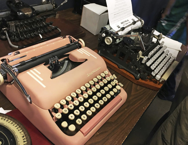 The Typewriter Comeback