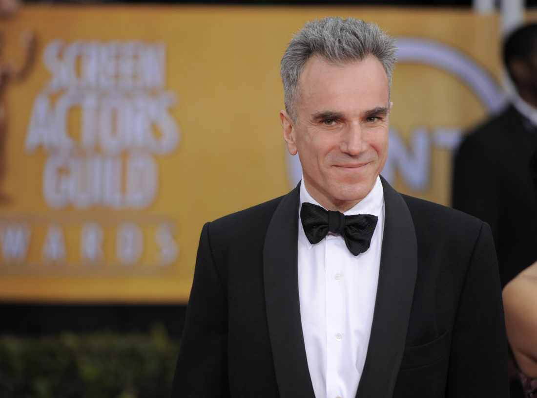 "AP PHOTO In this Jan. 27, 2013, file photo, Daniel Day-Lewis arrives at the 19th Annual Screen Actors Guild Awards at the Shrine Auditorium in Los Angeles. Day-Lewis's representative, Leslee Dart, said in a statement Tuesday, that the 60-year-old performer ""will no longer be working as an actor."" She added that Day-Lewis is ""immensely grateful to all of his collaborators and audiences over the many years."""