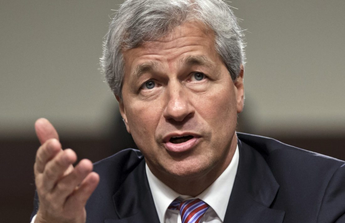 AP PHOTO In this June 13, 2012, file photo, JPMorgan Chase CEO Jamie Dimon testifies before the Senate Banking Committee on Capitol Hill in Washington. During calls with reporters and Wall Street analysts on Friday, Dimon vented his irritation with politicians and the news media, arguing that the nation is spending too much time bickering instead of solving real issues.