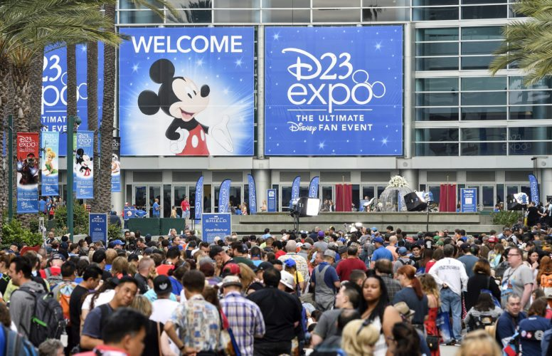 Disney Expo Animation