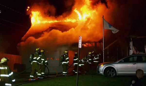 Tama house fire