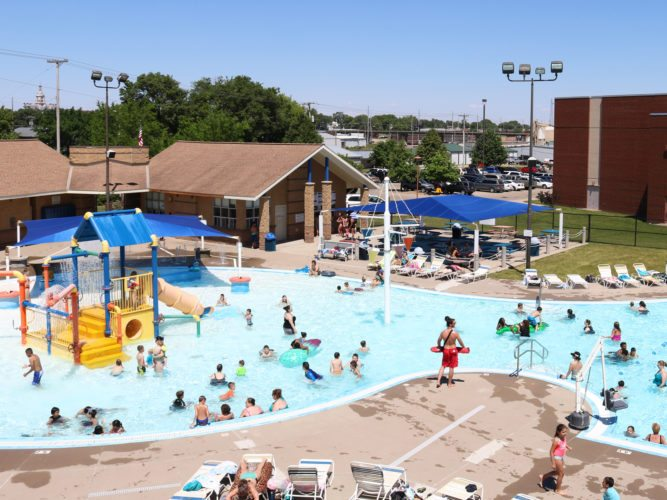 T-R FILE PHOTO On Sunday, July 30 from 1-6 p.m., there will be free admission to the Marshalltown Aquatic Center, courtesy Mitchell Family Funeral Home. The gesture is in remembrance of the four children who drowned in the Iowa River the summer of 2012.