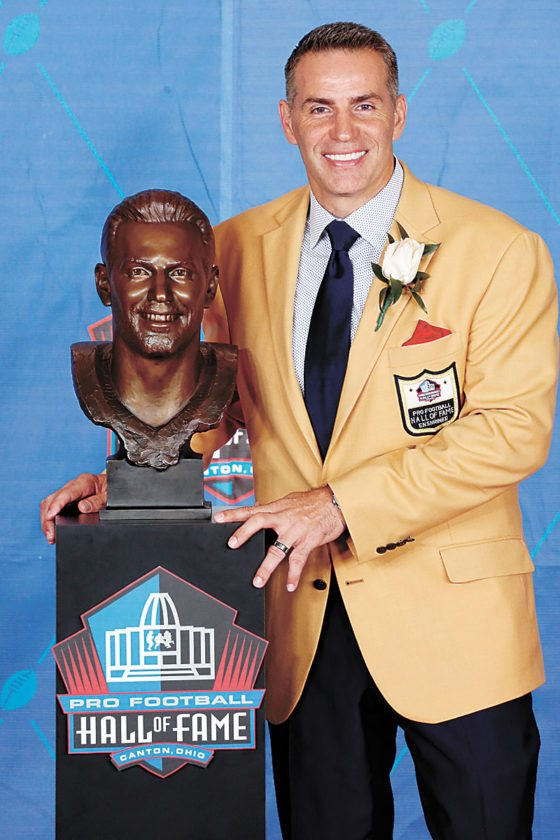 Warner Inducted To Nfl S Hall Of Fame News Sports Jobs