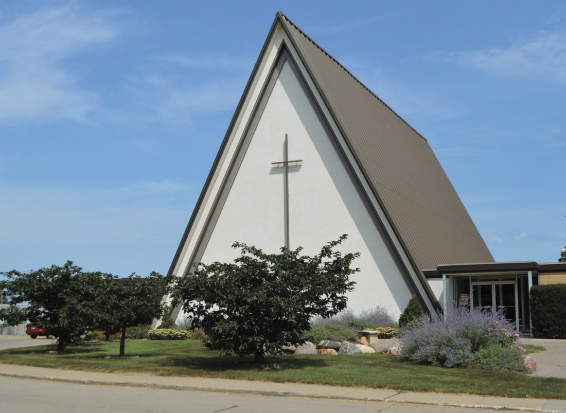 T-R FILE PHOTO Trinity Lutheran Church, located at 1011 S. 3rd Ave, will host its annual free Neighborhood Party, from 5-7 p.m. on Sunday. Food, games, activities and music will be offered. Everyone is welcome to attend.