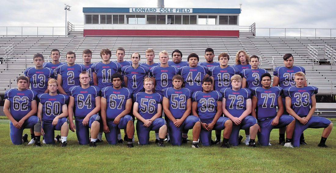 T-R PHOTO BY THORN COMPTON • Marshalltown football brings back 26 letterwinners from last year's team. Pictured are front row: (from left) Lance Ingram, Matt Bohan, Mason Monk, Luis Ortiz, Ryan Bohan, Decker Mann, Marco Ordaz, Bailey Gibson, Alan Cantu and Cameron Vranek; middle row: Conner Stanton, Sam Irwin, Josh Melde, Ryan Huffman, Noah DeVenney, Jordan Fox, Ryan Collins, Braden Bethke and Gavin Joesting; back row: Brian Trowbridge, Chayton French, Tyler Reeder, Lucas Duff, Noah Albee, Spencer Finch and Blake Linsenmeyer.