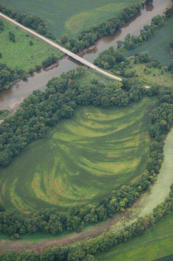 Farm field pattern