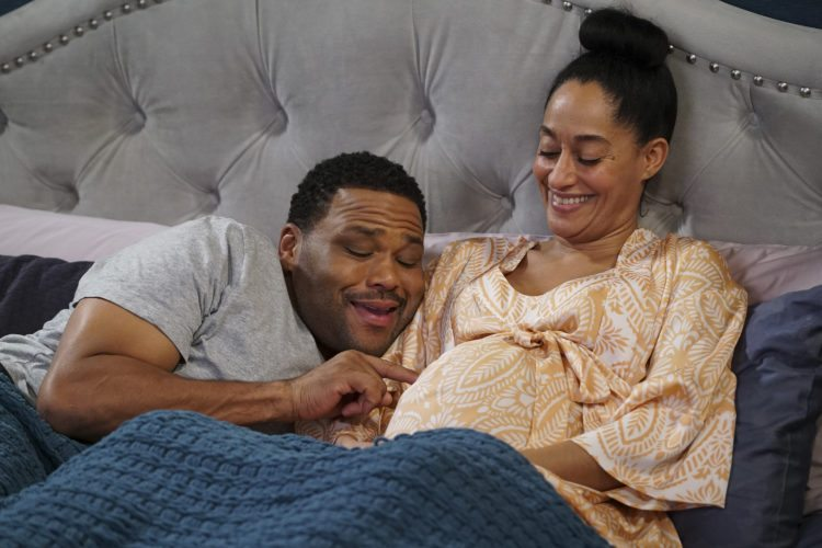"This image released by ABC shows Anthony Anderson, left, and Tracee Ellis Ross in ""black-ish."" The show is nominated for an Emmy Award for outstanding comedy series and Anderson and Ross are nominated for lead actors in a comedy. While the hard-won progress made by the African-American stars and creators of Emmy-nominated shows including ""black-ish"" and ""Atlanta"" is cheered by other ethnic groups, they say it illuminates how narrowly the entertainment industry views diversity.  (Ron Tom/ABC via AP)"