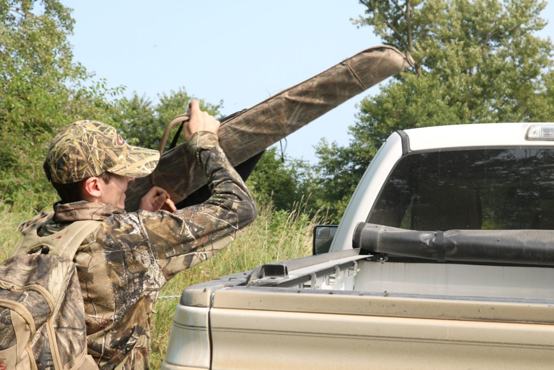 T-R PHOTO BY ADAM SODDERS Dove hunting is fairly accessible: the gear requirements are minimal compared to other types of hunting.
