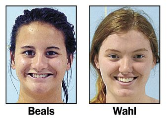 Zoe Beals and Jacqueline Wahl