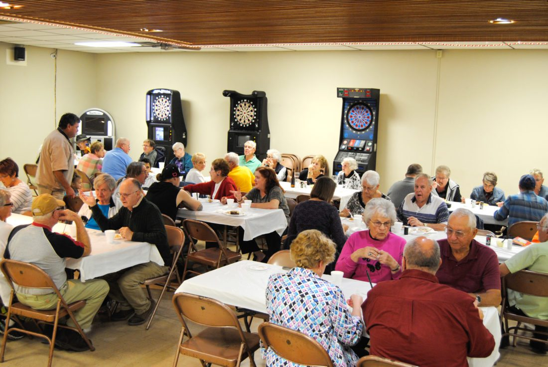The American Legion Riders Post 46 sponsored a homemade meatloaf meal with mashed potatoes and gravy, sweet corn and a variety of desserts Friday at post headquarters. This was the first in a series of monthly dinners, sponsored by the    Riders, as they collected free will   donations that will go toward           veteran-related interests. More dinners, along with Bingo will be held in November, December and into early 2018.