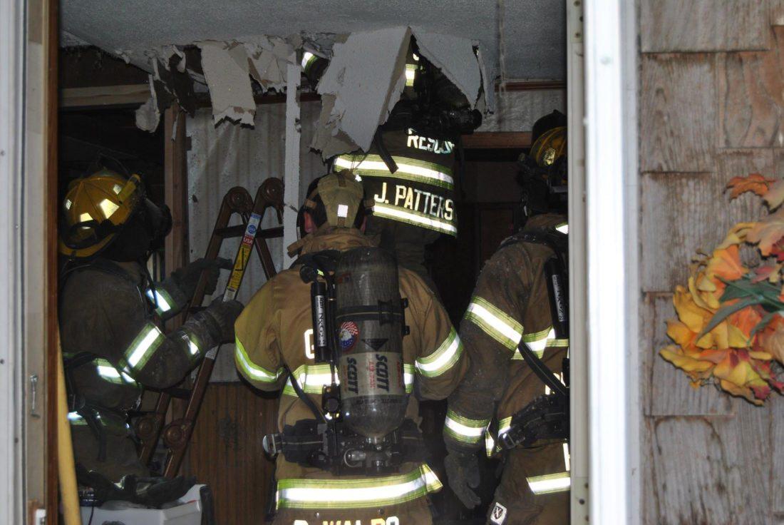 Ferguson house fire
