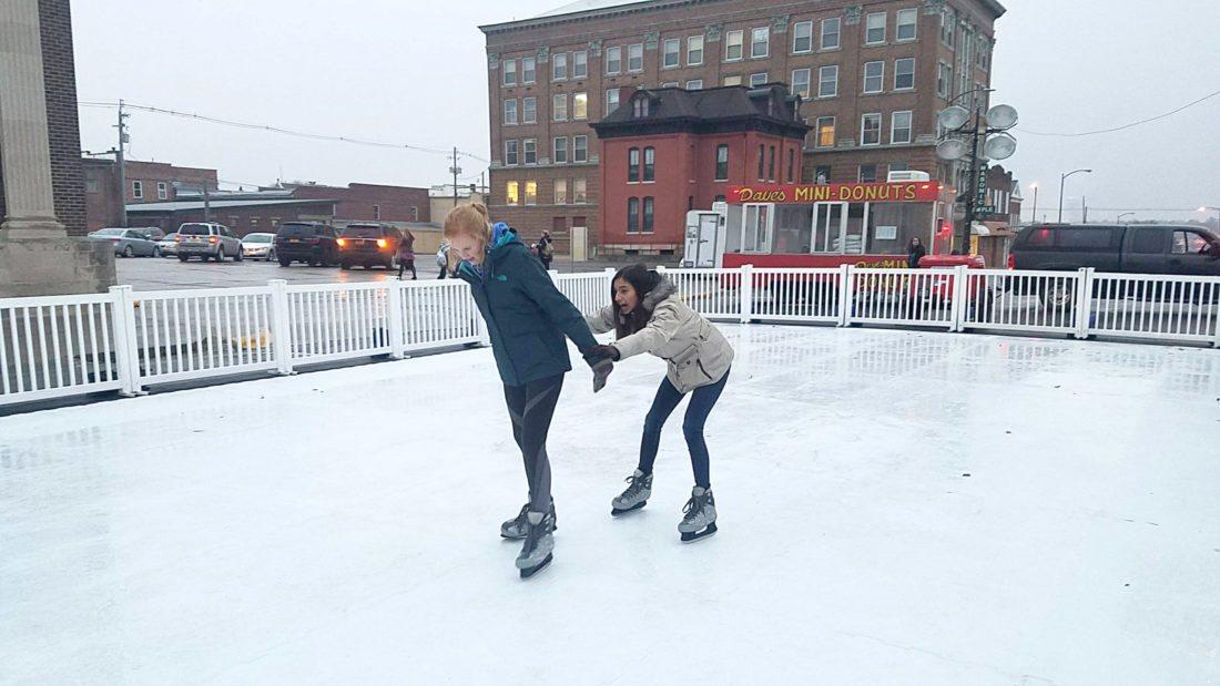 ice skate web