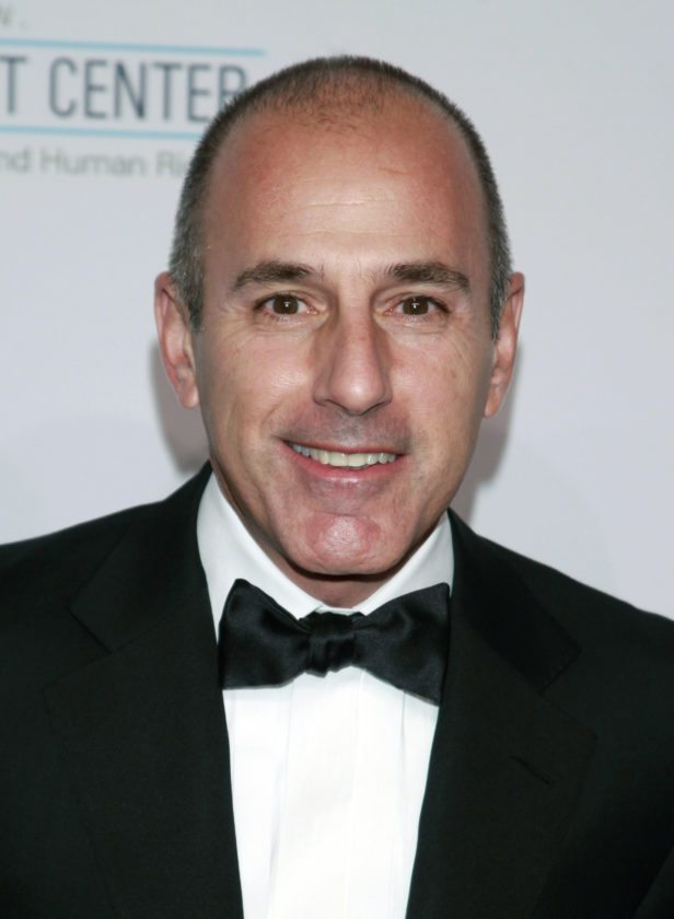 "FILE - In this Oct. 15, 2013, file photo, Matt Lauer arrives at an event in New York. NBC News announced Wednesday, Nov. 29, 2017, that Lauer was fired for ""inappropriate sexual behavior."" (Photo by Carlo Allegri/Invision/AP, File)"