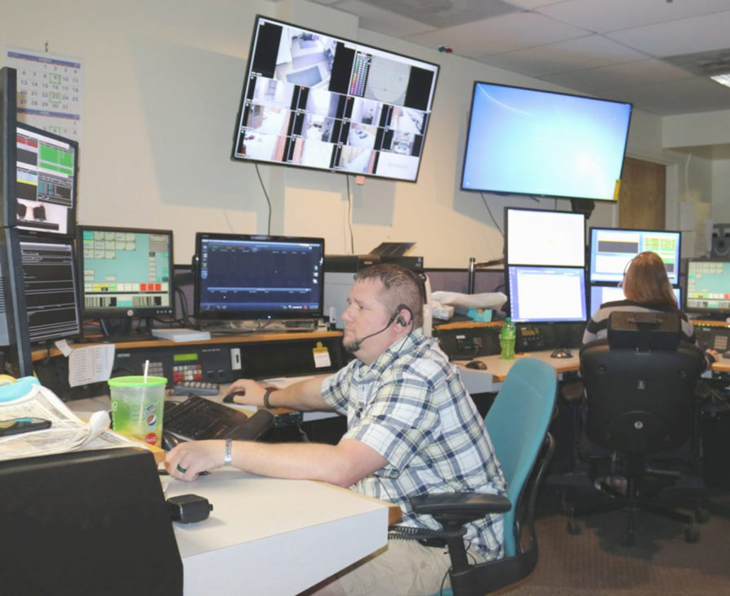T-R FILE PHOTO Being a 911 operator requires skills in communication and multitasking, but employees say the job also brings a sense of pride in being able to help people in crisis. The city of Marshalltown is currently looking to hire two 911 operators.
