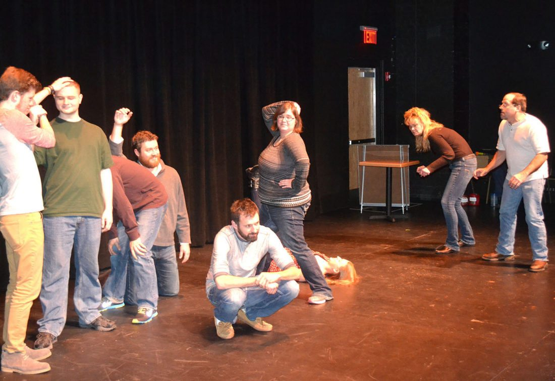 """T-R FILE PHOTO """"Instant Comedy — Just Add Spam"""" the improvisation comedy show returns to the Orpheum Theater with workshops running Dec. 27-29 at 6:30 p.m., and performances Dec. 30-31 at 7:30 p.m."""