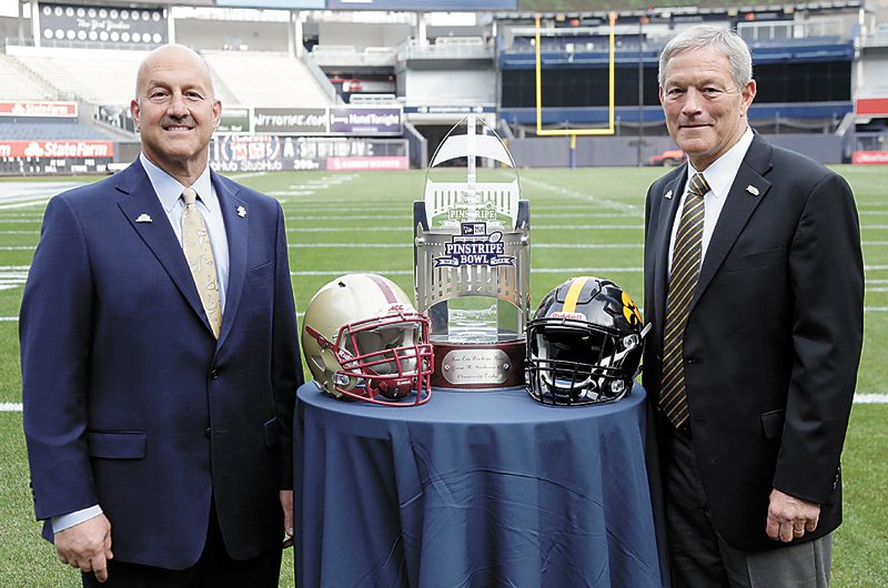 Hawkeyes take in sights, talk Pinstripe Bowl