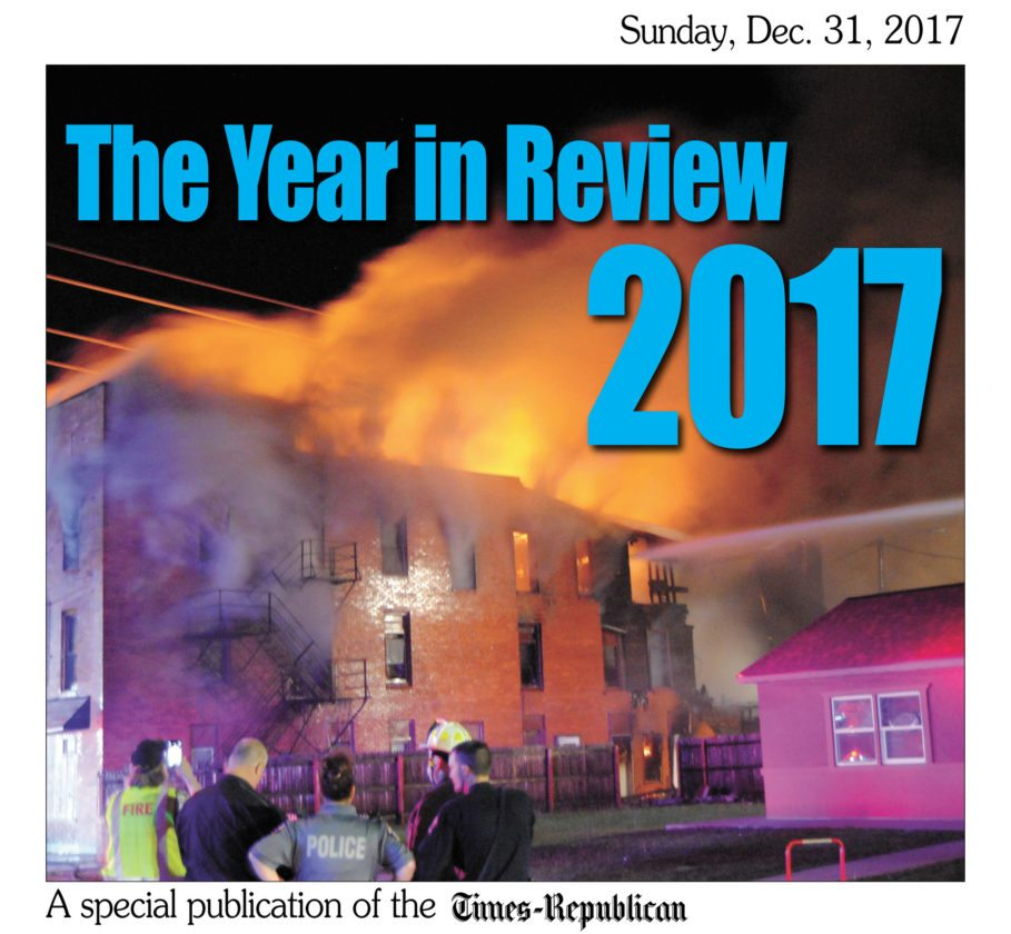 Look for the T-R's special section           highlighting some of the stories              making headlines in 2017