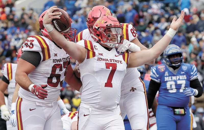Iowa State holds on for win over Memphis in Liberty Bowl