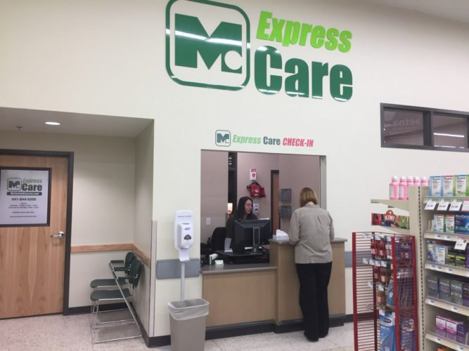 CONTRIBUTED PHOTO McFarland Clinic has opened its Express Care medical services in the Hy-Vee grocery store.
