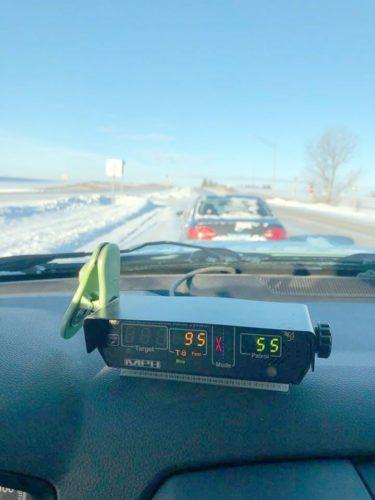 Icy speeder