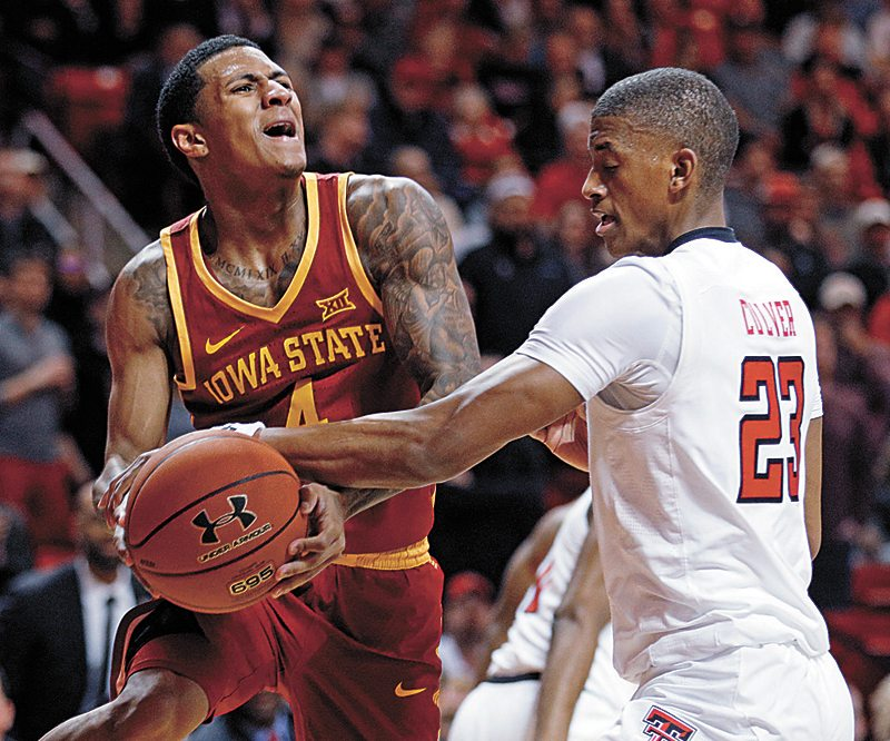 Texas Tech uses second-half surge to beat Iowa State, 76-58