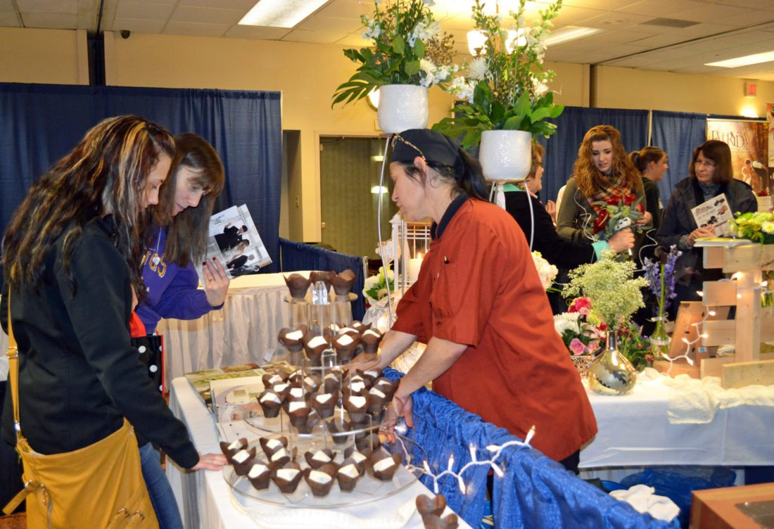 T-R FILE PHOTO The 11th annual Times-Republican Bridal Expo will be held Sunday, Feb. 18 from 12-3 p.m. at the Best Western Regency Inn, allowing brides-to-be the chance to browse area vendors, try samples and get a start on their wedding planning.