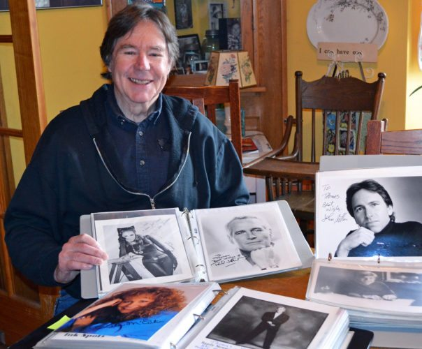 Retired teacher Tom LaVille has amassed a collection of entertainment memorabilia in excess of 15,000 pieces, which includes movie posters, sheet music, autographed photos and celebrity lunch boxes.