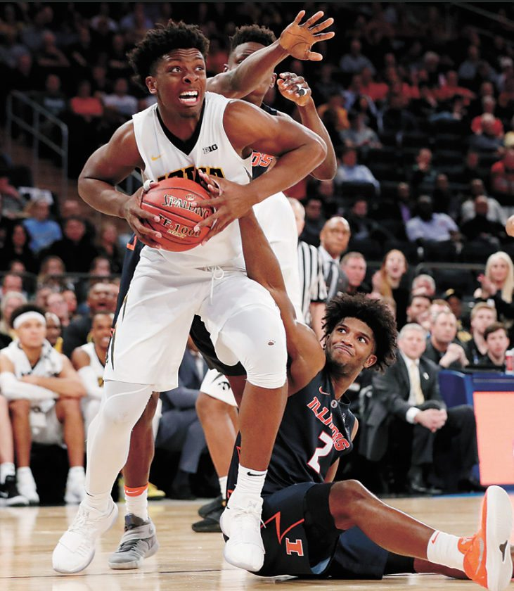 Big Ten basketball tournament kicks off Wednesday. in NYC