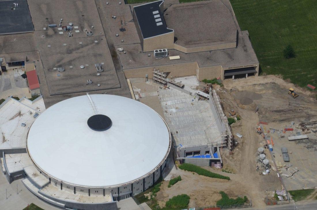 Marshalltown High School Roundhouse Phase II construction ...