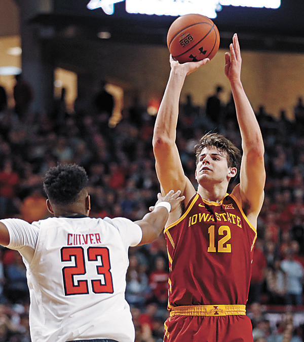 Iowa State bounces back with upset at No. 8 Texas Tech