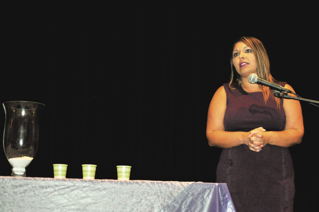 Ohio Sen. Capri Cafaro delivered a speech Monday at Someplace Safe's 22nd annual Unity Day memorial. She said keeping the issue alive in conversation is a way to give people suffering from domestic violence the strength and support to get out.