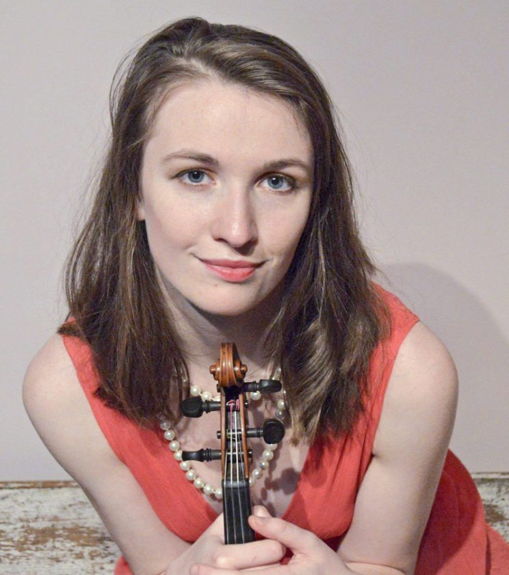 Special to the Tribune Chronicle Caitlin Hedge will be the violin soloist for the Dana Symphony Orchestra's performance of Scheherazade, Op. 35.