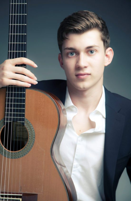Special to the Tribune Chronicle  Thibaut Garcia, winner of the 2015 Guitar Foundation of America International Classical Guitar Competition, will perform Friday at Youngstown State University.
