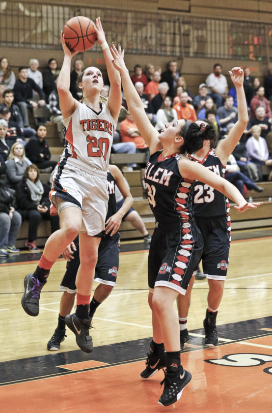 Tribune Chronicle file Howland's Sara Price (20) will play her college basketball at Ball State.