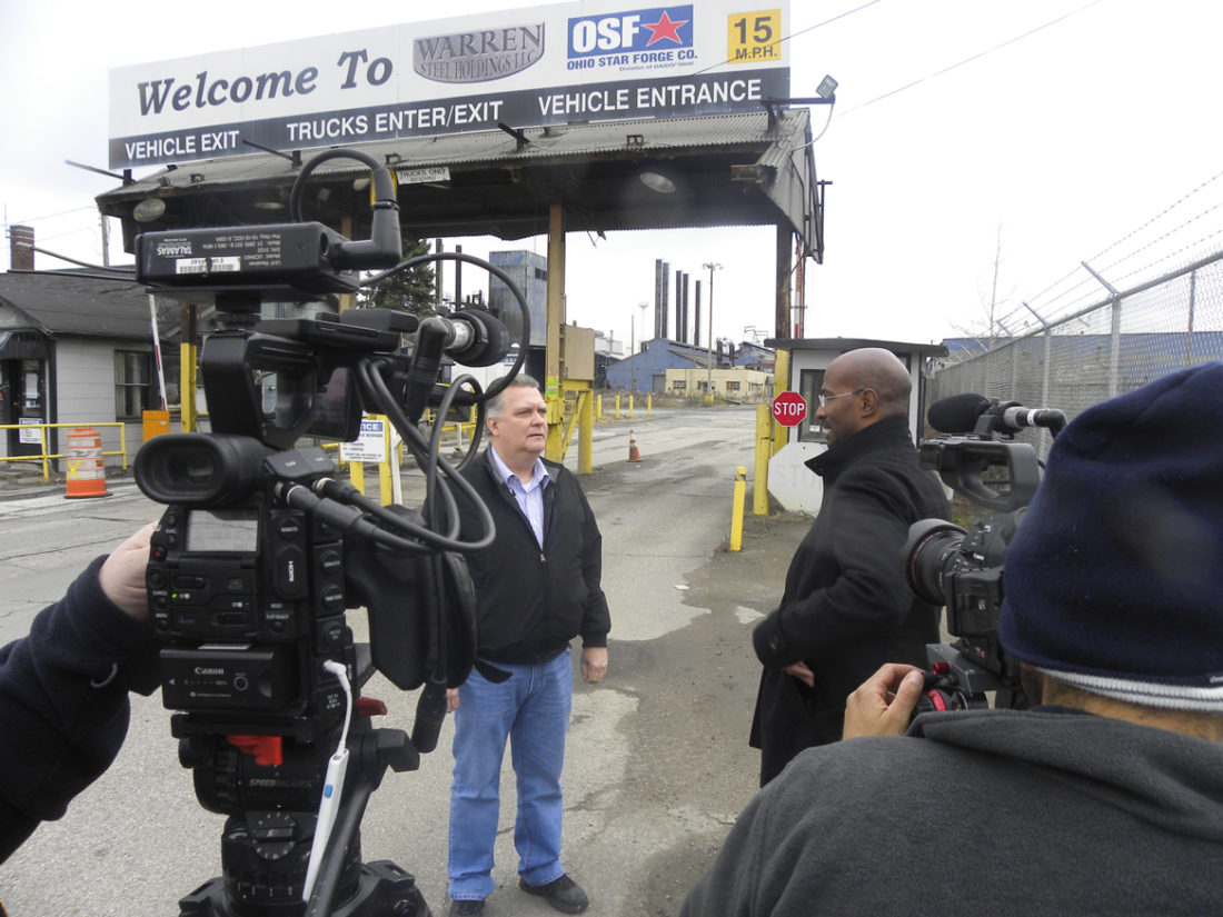 Trumbull County Republican Party Chairman Randy Law tells CNN Commentator Van Jones about the history of CSC Steel Ltd. and other plants that closed down in the area as part of his explanation of why some longtime Democrats voted for President-Elect Donald Trump.