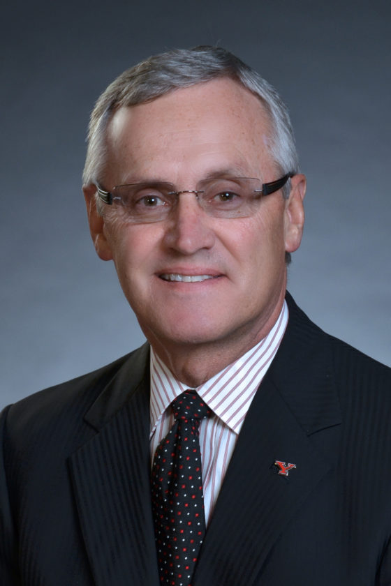 YSU President Jim Tressel