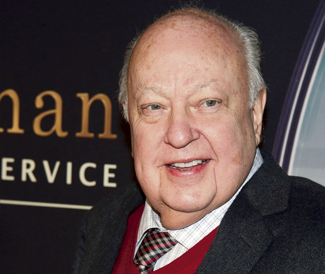 AP  Warren native and then-Fox News CEO Roger Ailes is shown in 2015 in New York. Fox News said Ailes had died Thursday at 77 after a May 10 fall at his Palm Beach, Fla., home.